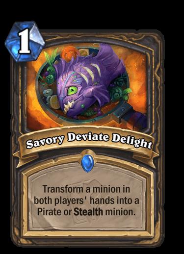 Savory Deviate Delight