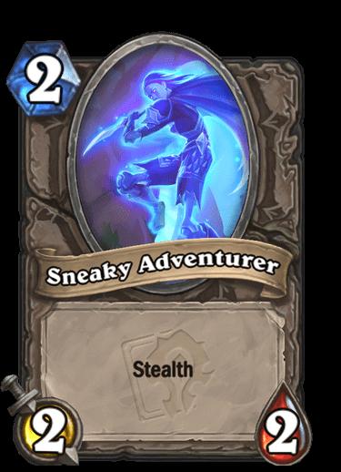 Sneaky Adventurer