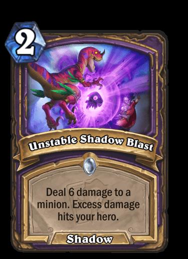 Unstable Shadow Blast
