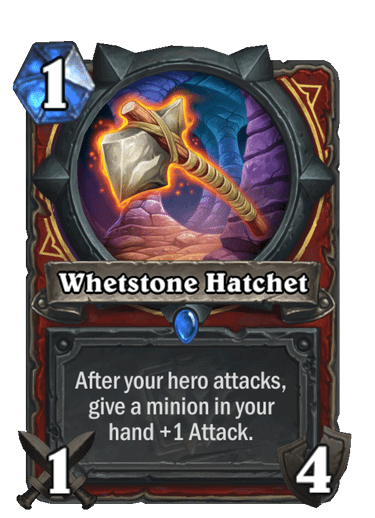Whetstone Hatchet