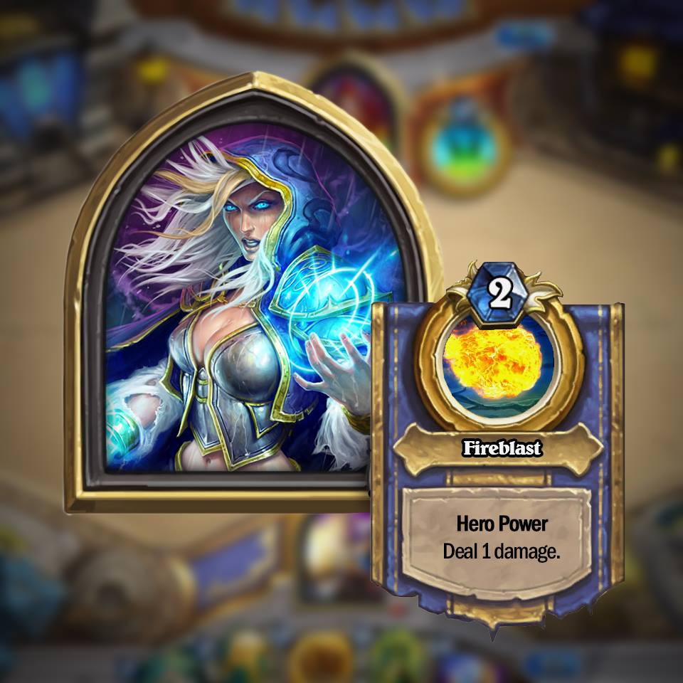 mage Golden Hero Hearthstone