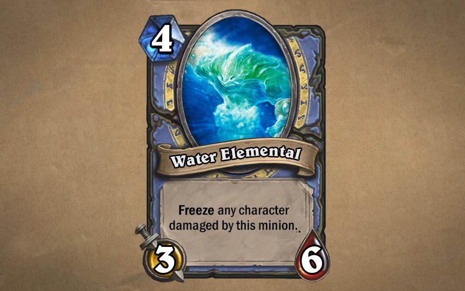 Water Elemental Hearthstone