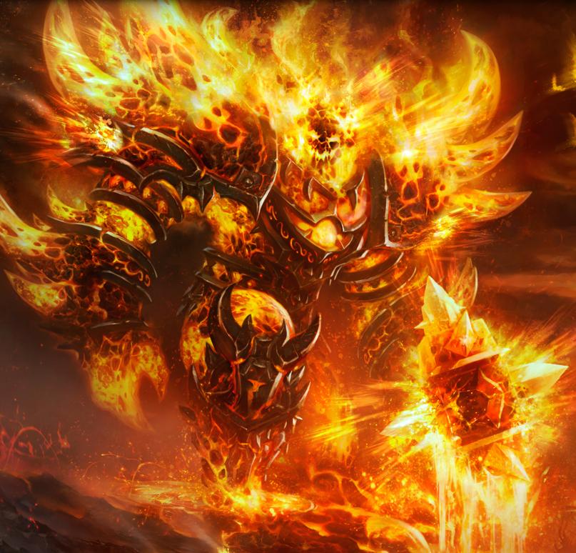 Ragnaros artwork