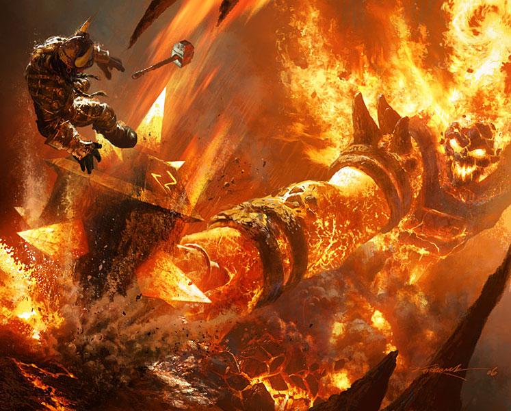 Ragnaros a tűz ura