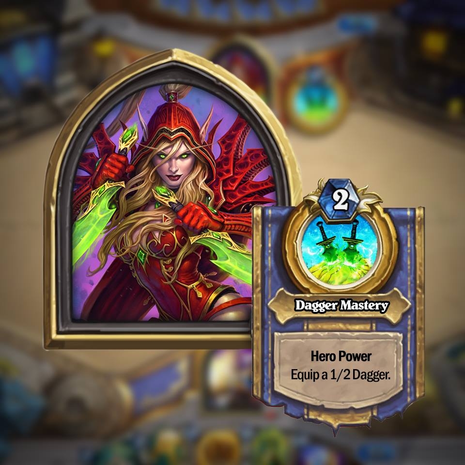 rogue Golden Hero Hearthstone