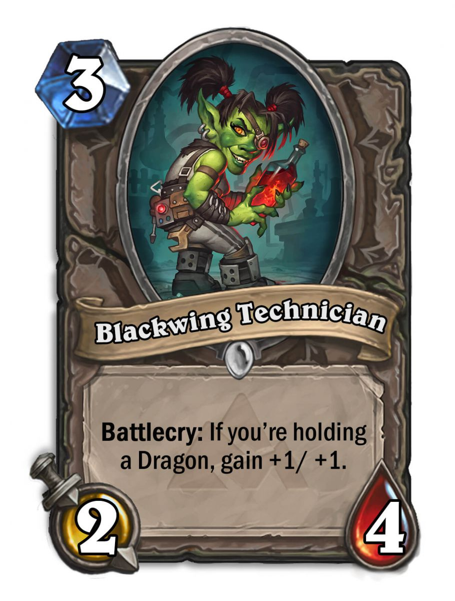 blackwing technician hearthstone kártya blackrock mountain