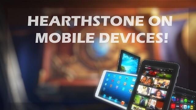 Érkezik a Hearthstone mobilra
