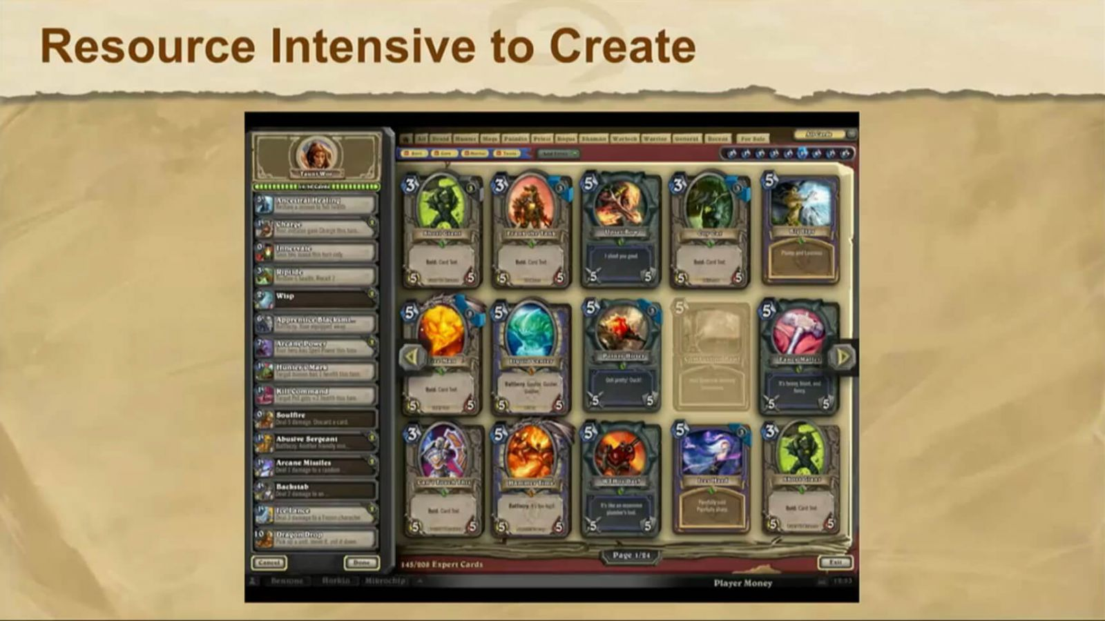 hearthstone resources