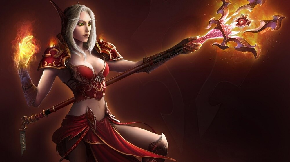 Blood Elf és a Hearthstone paklik