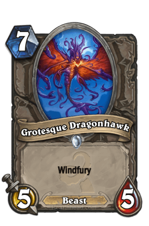 Grotesque Dragonhawk