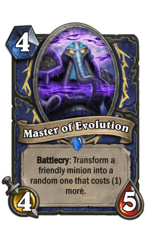 Master of Evolution
