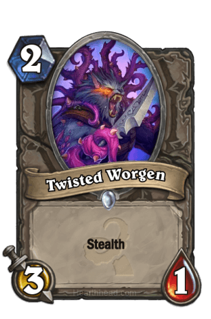 Twisted Worgen