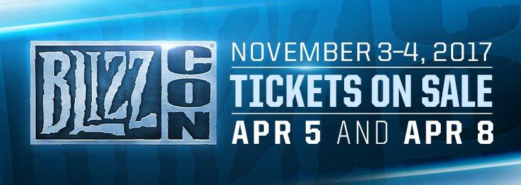 BlizzCon 2017 - november 3. és november 4.
