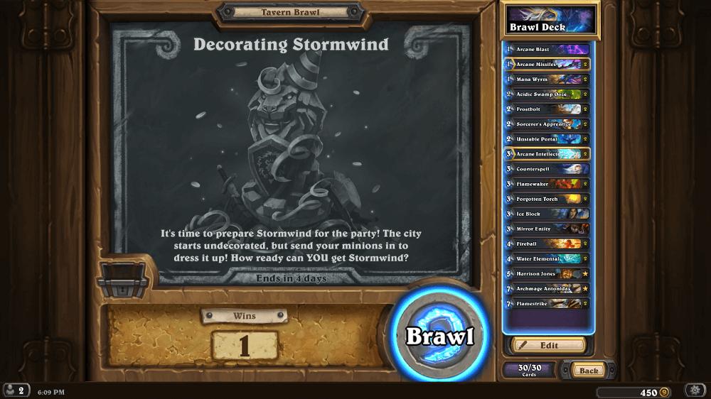 Dekoráld Stormwindet Kocsmai Verekedés Un'Goro kártya csomaggal