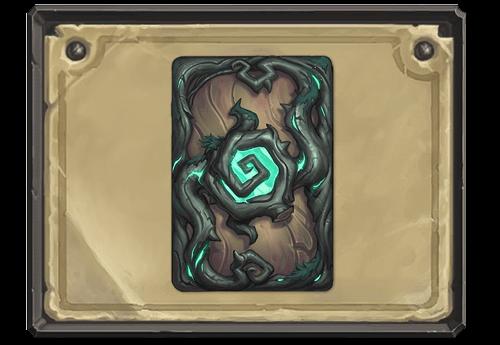 In a Dark Wood kártya hátlap