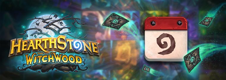 Witchwood kártyák bemutatása (március 26-ai és április 2-ai héten)