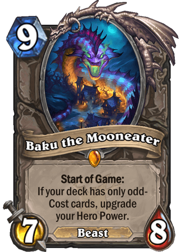Baku, the mooneater