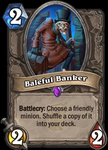 Baleful Banker