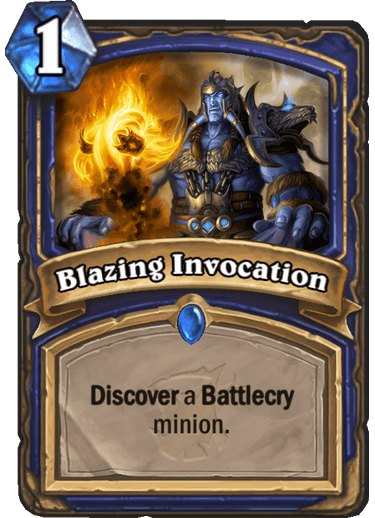 Blazing Invocation