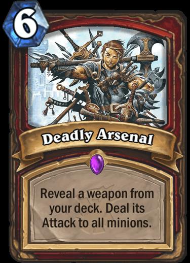 Deadly Arsenal