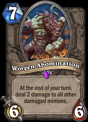 Worgen Abomination