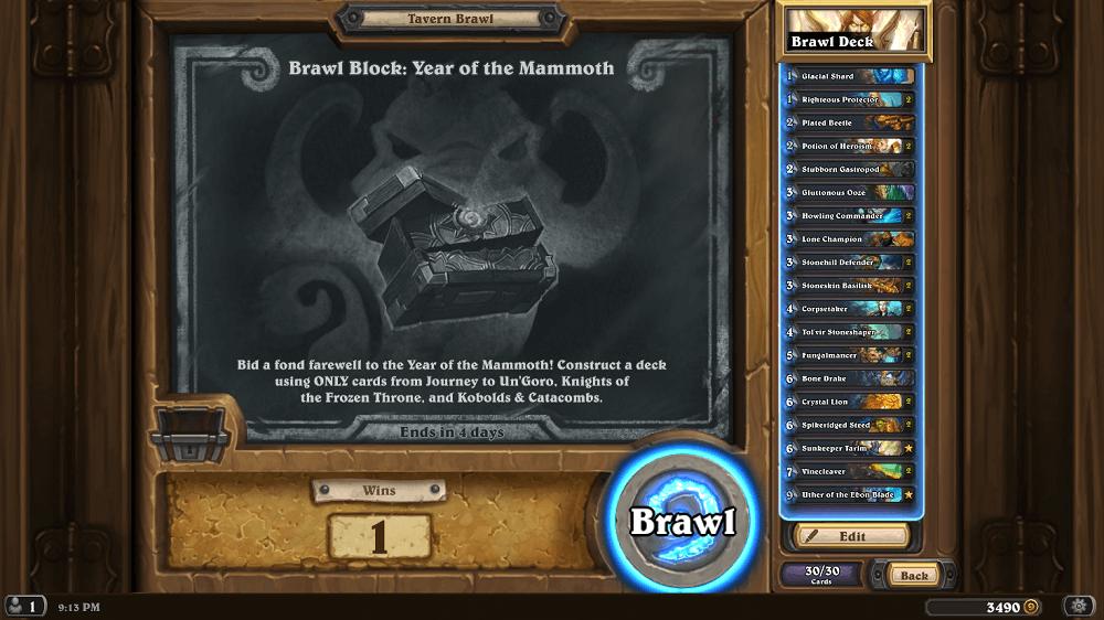 Year of the Mammoth Brawl