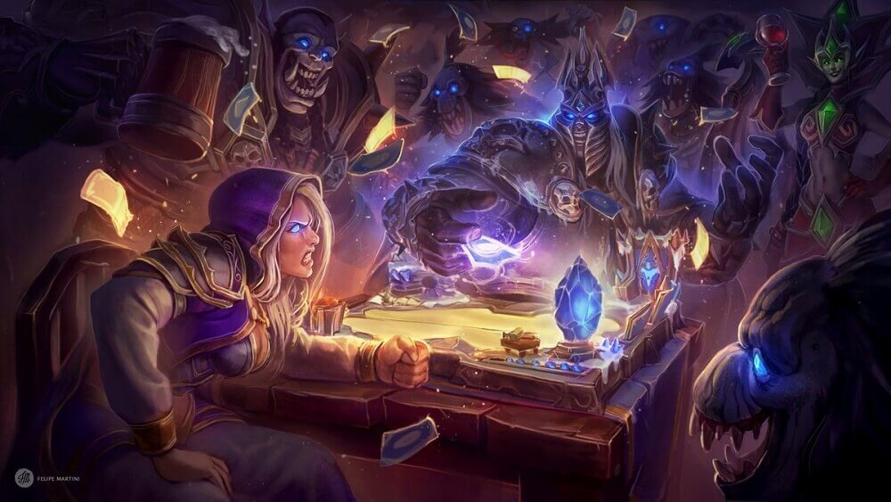 Hearthstone artwork