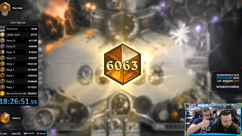 Hearthstone Legend in 24 hours