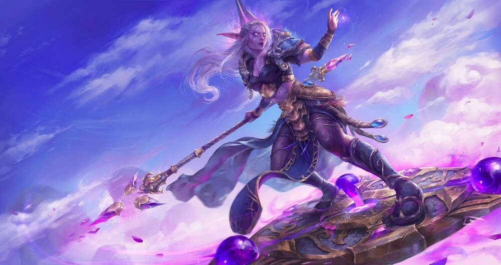 mage artwork warcraft