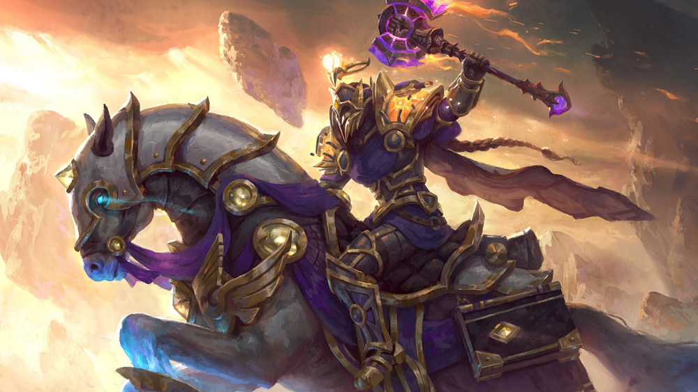 paladin artwork World of Warcraft