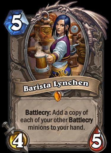 Barista Lynchen