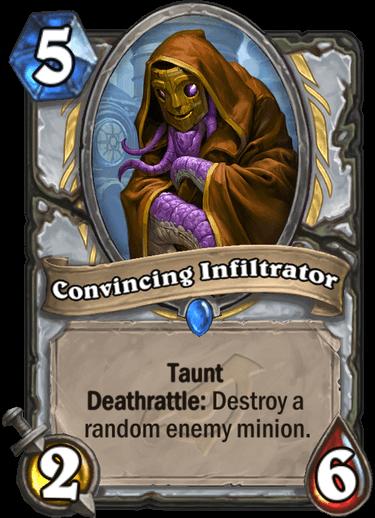 Convincing Iniltrator