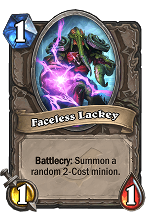 Faceless Lackey