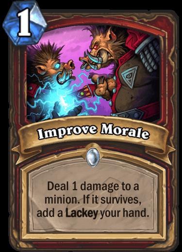 Improve Morale