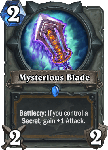 Mysterious Blade