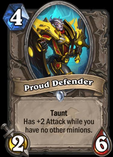 Proud Defender