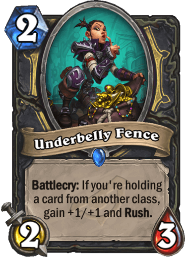 Underbelly Fence
