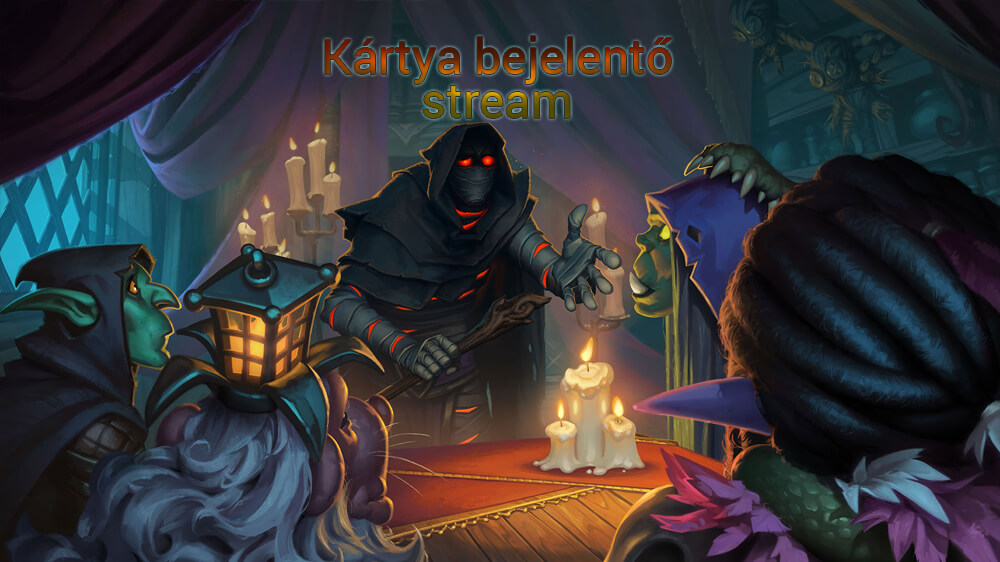 Rise of Shadows Live Stream Hearthstone