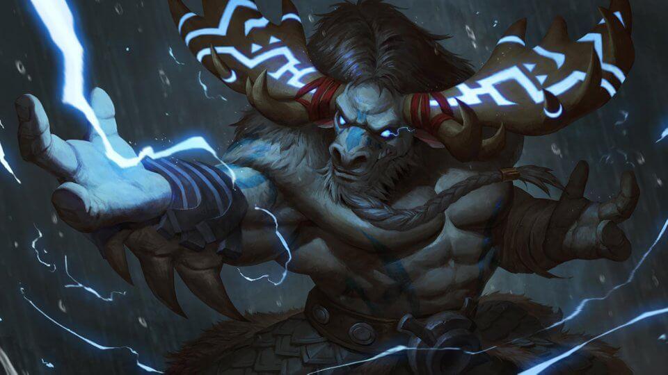 shaman artwork warcraft Nat Vitchayed