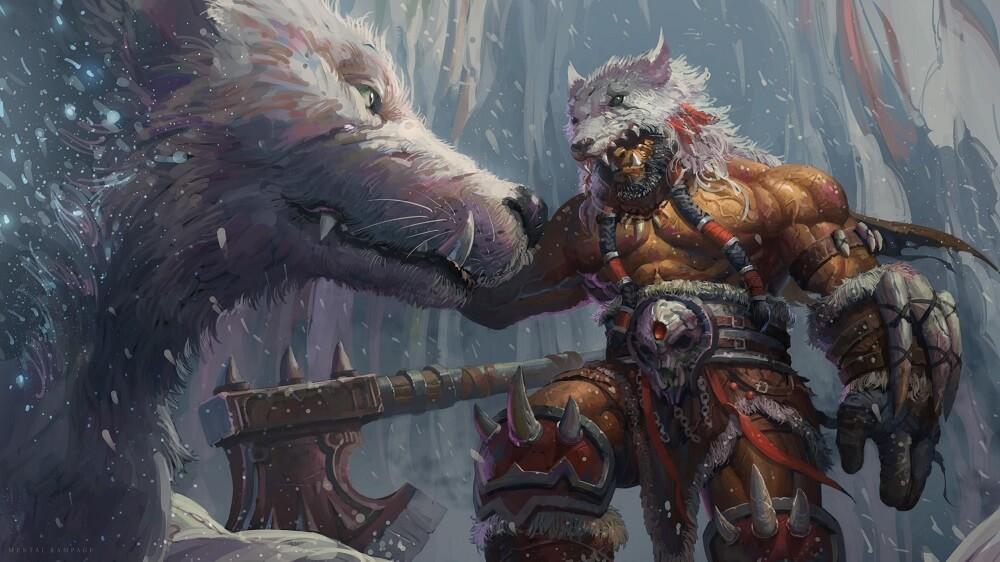 warrior Durotan artwork warcraft