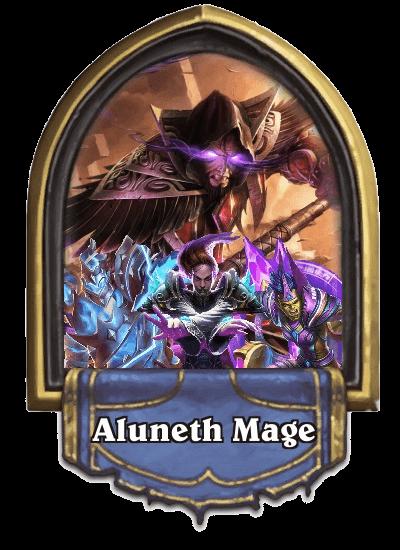 SoUWld Aluneth Mage portrait hearthstone