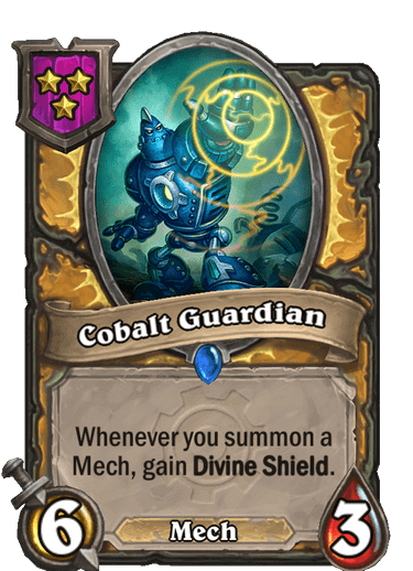 Cobalt Guardian
