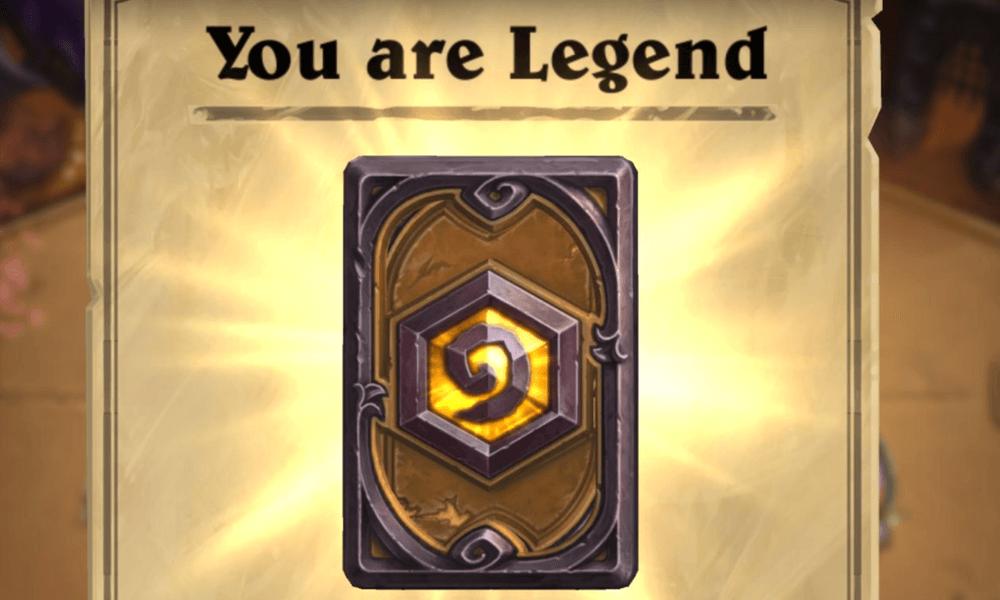 Hearthstone Legenda rang