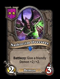 Natzherim Overseer