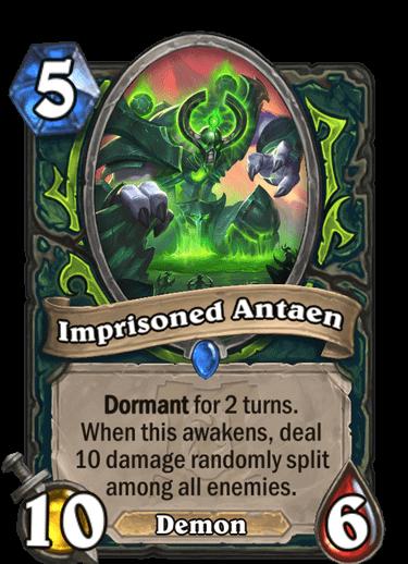 Imprisoned Antaen