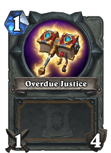 Overdue Justice