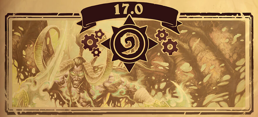 Hearthstone Patch 17.0