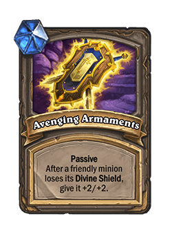 Avenging Armaments