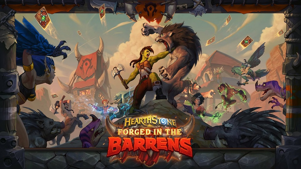 Forged in the Barrens artwork