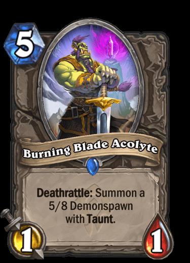 Burning Blade Acolyte